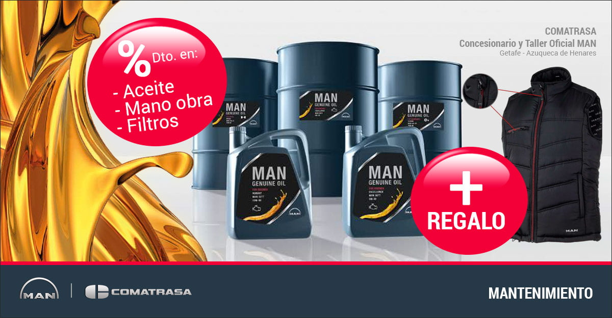 Mantenimiento camiones MAN - Genuine Oil