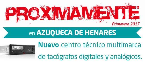 Revisión tacógrafo en Azuqueca de Henares