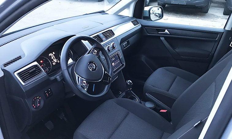 Interior Caddy Trendline 2016