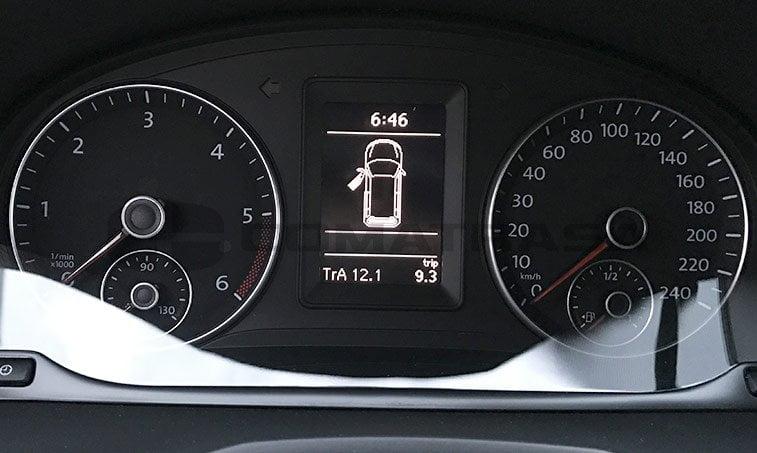 VW Caddy Profesional 2.0 cuadro instrumentos