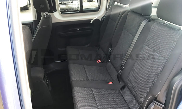 Caddy Trendline interior trasero