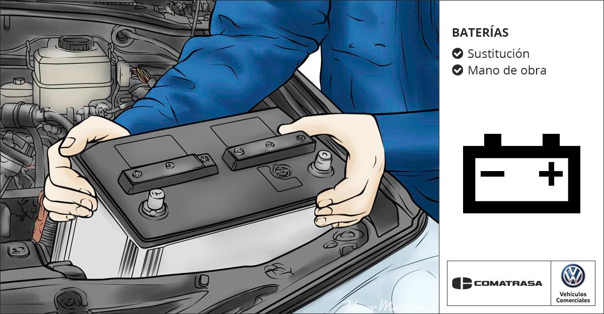 Cambio de baterías Volkswagen