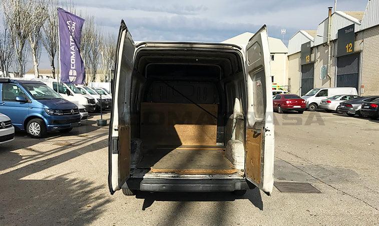 carga Ford Transit 2.2