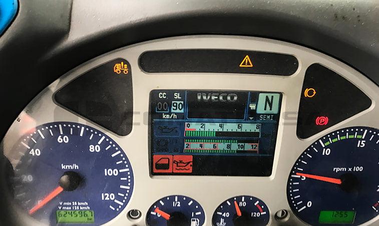 cuadro instrumentos Iveco AS440