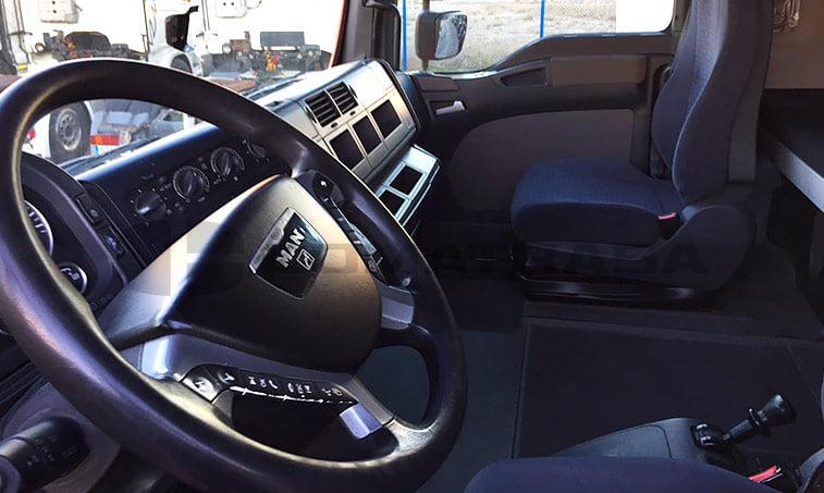interior MAN TGA 18480
