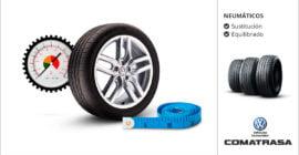 Cambio neumáticos Volkswagen