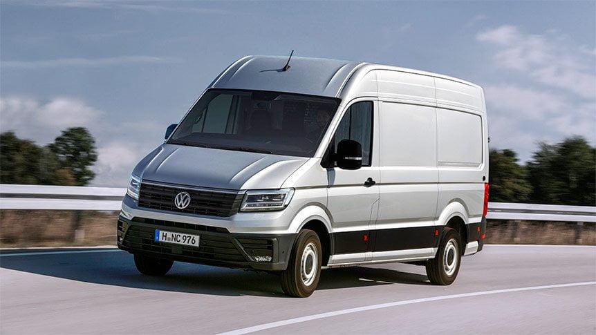 Nuevo furgón Volkswagen Crafter 2017