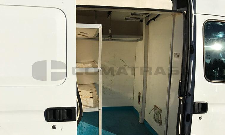 separación carga Renault Master