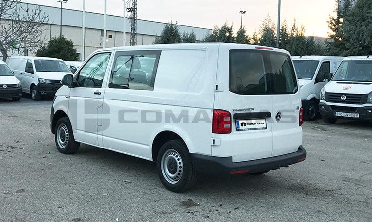 Lateral izq VW Transporter Kombi 102 CV