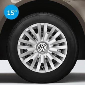 Embellecedor de rueda diseño en V