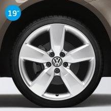 Llantas Aragonit color plata Volkswagen Originales