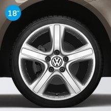 Llantas Dakar color plata Volkswagen Originales