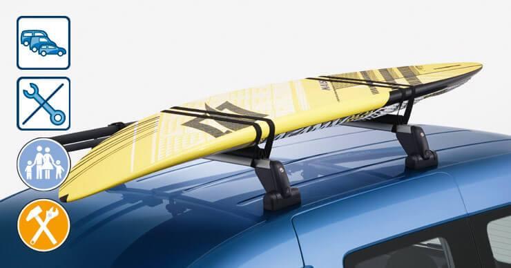 Sistema de transporte - Portatablas de Surf
