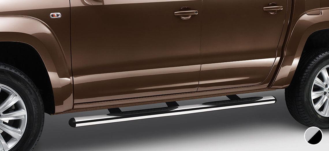Tubo lateral de diseño Volkswagen Amarok con escalón