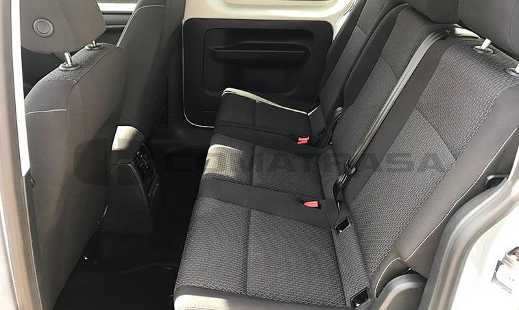 Asientos en medio VW Caddy Maxi Trendline Ocasión 2016