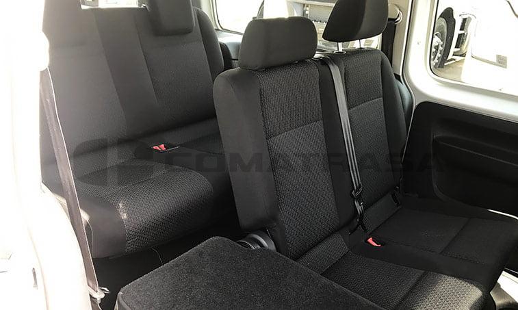 VW Caddy Maxi Trendline Ocasión 2016 asientos