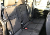Asientos vw caddy trendline negro