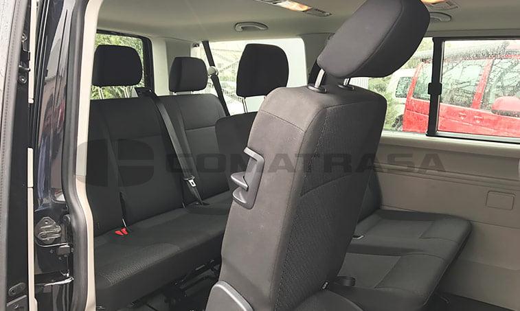 asientos traseros VW Caravelle Trendline 2016 mayo