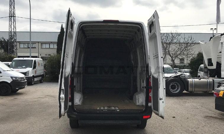 carga VW Crafter ocasión 2013