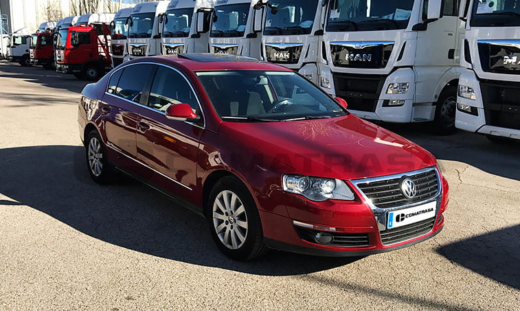 VW Passat 4Motion 2008
