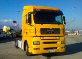 MAN TGA 18440 4x2 BLS Cabeza Tractora (2007) derecha