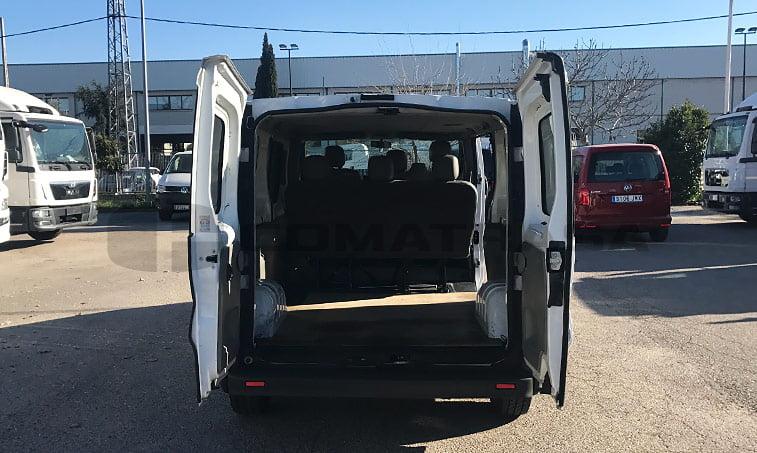 Opel Vivaro 2.0 CDTI 115 CV zona de carga