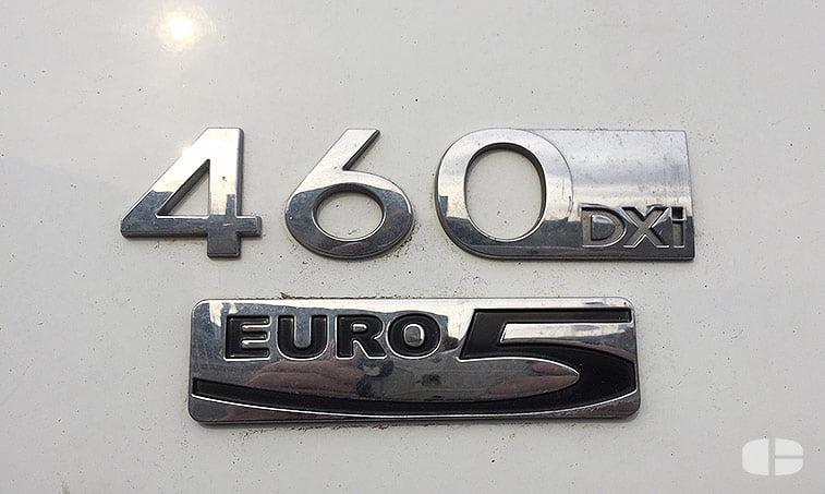 Renault Magnum 460 Cabeza Tractora distintivo