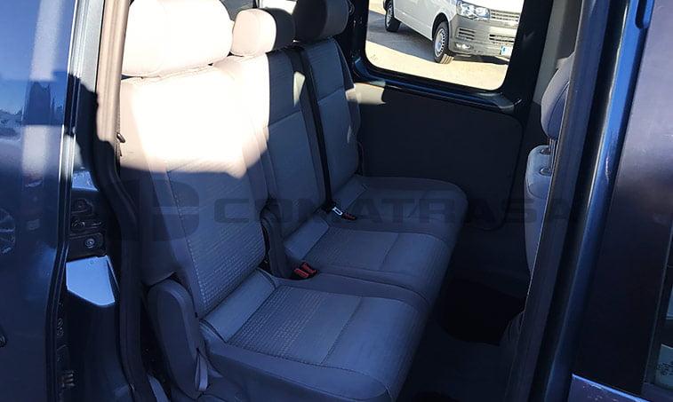 asientos traseros VW Caddy 1.9 TDI 75 CV