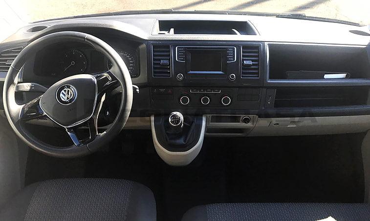 interior VW Caravelle Trendline 2016