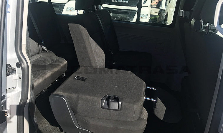 asientos VW Caravelle Trendline 2016