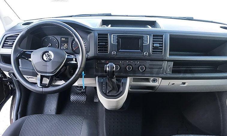 interior vw caravelle trendline dsg