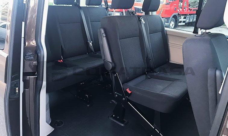 asientos vw caravelle trendline dsg