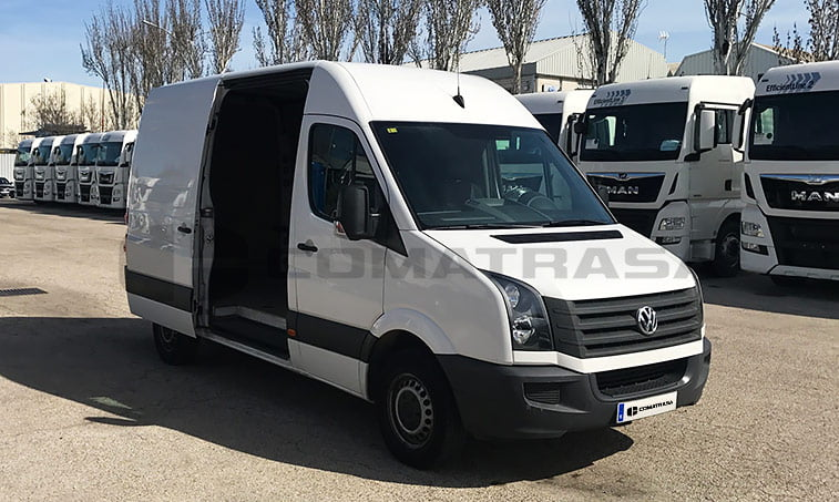 vw crafter 2 0 tdi 109 cv furg n 2013 comatrasa. Black Bedroom Furniture Sets. Home Design Ideas