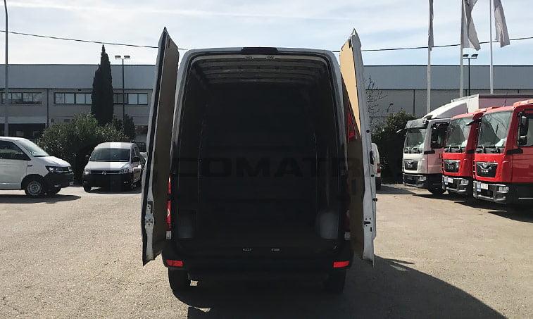 zona de carga VW Crafter 2.0 TDI 109 CV Furgón (2013)