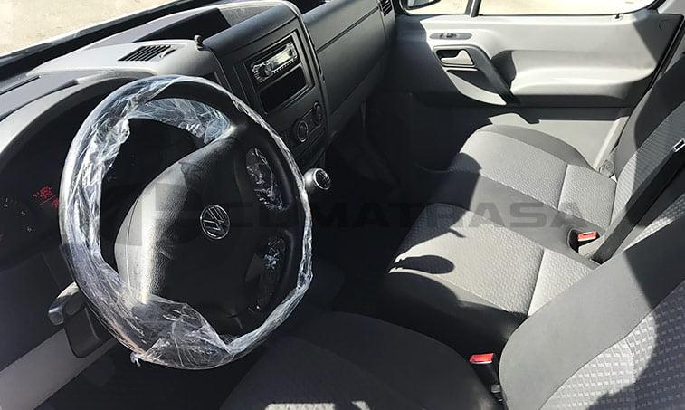 interior VW Crafter 2.0 TDI 109 CV Furgón (2013)