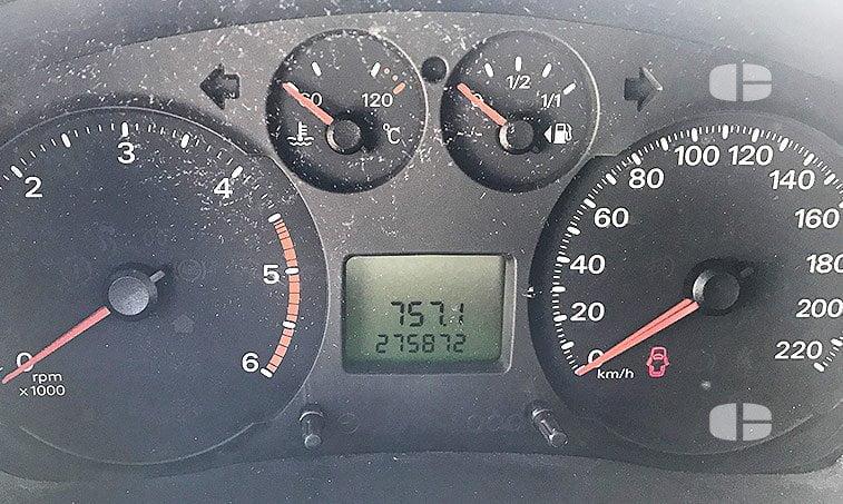 Ford Transit Tourneo 250 S 2.2 TD 100 CV kilómetros
