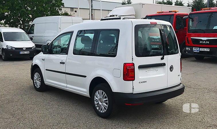 VW Caddy Profesional Kombi 2.0 TDI 102 CV 2017 lateral izquierdo