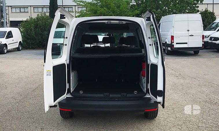 VW Caddy Profesional Kombi 2.0 TDI 102 CV 2017 maletero