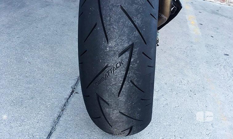 Ducati 848 Superbike Black 125 CV neumáticos