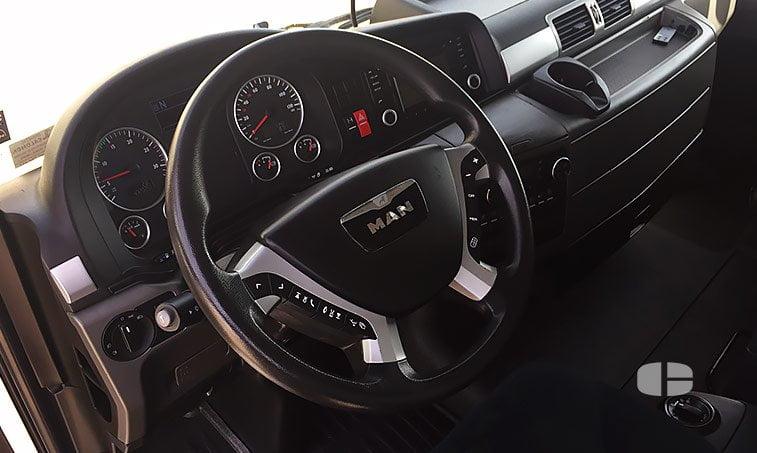 MAN TGX 18440 4x2 BLS Cabeza Tractora 2013 interior