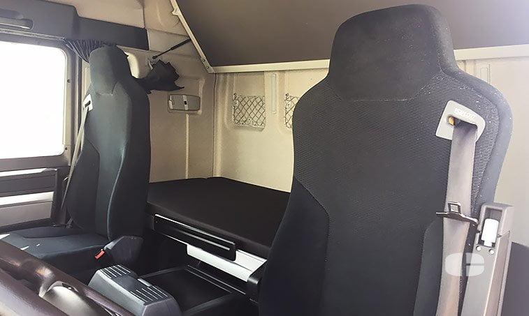 MAN TGX 18440 4x2 BLS Cabeza Tractora 2013 asientos
