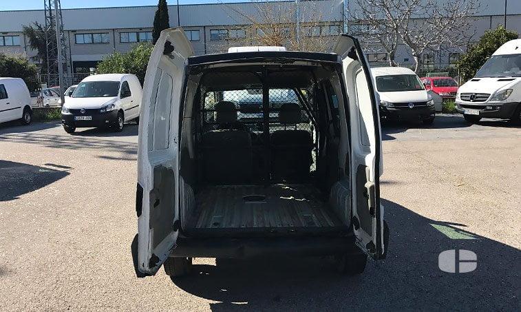 Renault Kangoo 1.9 65 CV Furgoneta zona de carga