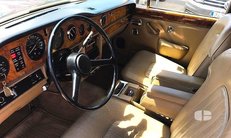 Rolls Royce Silver Shadow 2 1979 interior delantero