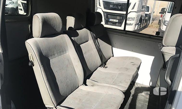 VW Transporter Kombi 1.9 TD 68 CV asientos