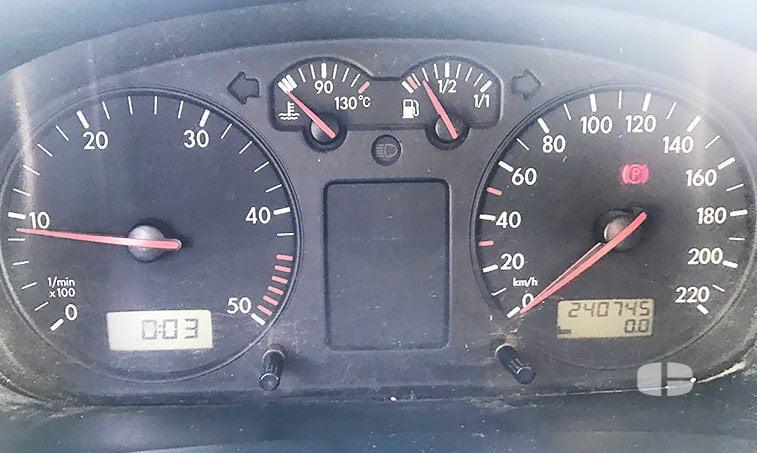 VW Transporter Kombi 1.9 TD 68 CV kilómetros