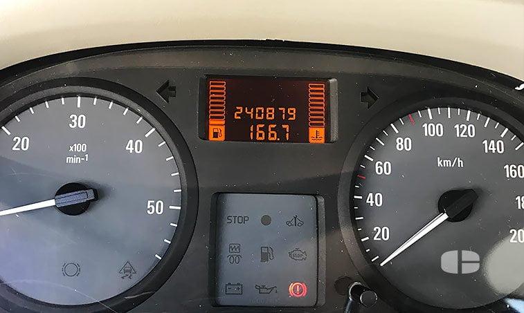 Opel Vivaro 2.0 CDTI 114 CV 9 plazas kilómetros