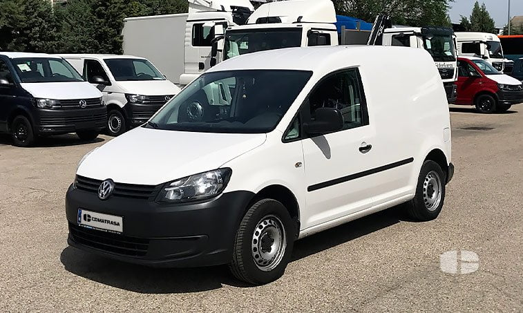 VW Caddy 1.6 TDI 102 CV Furgoneta 2012