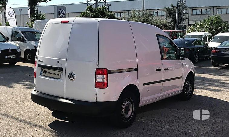 lateral derecho Volkswagen Caddy 1.9 TDI 105 CV Furgón
