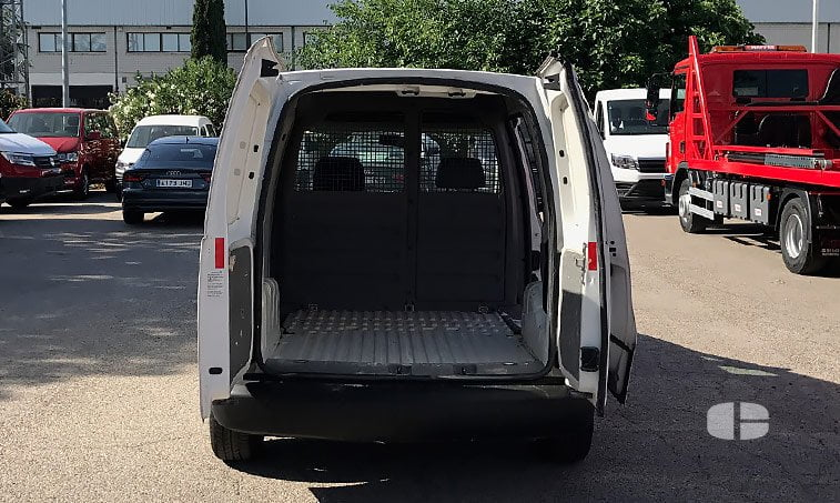 zona carga Volkswagen Caddy 1.9 TDI 105 CV Furgón