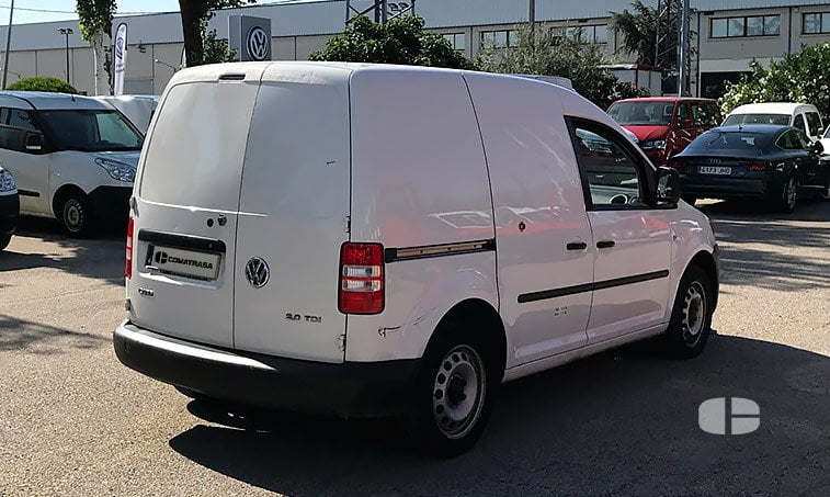lateral derecho VW Caddy Furgón 2.0 TDI 140 CV